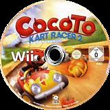 Cocoto Kart Racer 2 Wii disc (SKWPNK)