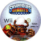 Skylanders: Giants Wii disc (SKYP52)