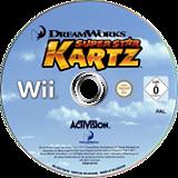 DreamWorks Super Star Kartz Wii disc (SKZP52)