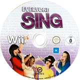 Everyone Sing Wii disc (SL6PGN)