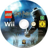 LEGO Harry Potter: Years 5-7 Wii disc (SLHPWR)