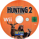 North American Hunting 2: Extravaganza Wii disc (SNEPXT)