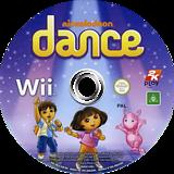 Nickelodeon Dance Wii disc (SNLX54)