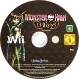 Monster High: 13 Wishes Wii disc (SNYPVZ)