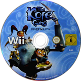 The Kore Gang: Outvasion From Inner Earth Wii disc (SP5PVV)