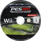 Pro Evolution Soccer 2011 Wii disc (SPVPA4)