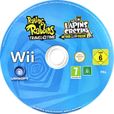Raving Rabbids:Travel in Time Wii disc (SR4P41)