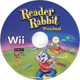 Reader Rabbit Preschool Wii disc (SRLXNL)