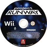 Project Runway Wii disc (SRNP70)