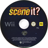 Scene It? Bright Lights! Big Screen! Wii disc (SSCPWR)