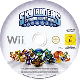 Skylanders:Spyro's Adventure Wii disc (SSPP52)