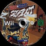 Wild West Shootout Wii disc (SSRPXT)