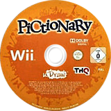 Pictionary Wii disc (STAP78)