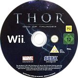 THOR: God of Thunder Wii disc (STHP8P)