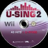 U-Sing 2 Wii disc (SU3PMR)