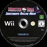 Monster High: Skultimate Roller Maze Wii disc (SU5PVZ)
