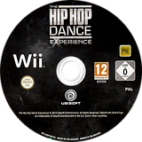 The Hip Hop Dance Experience Wii disc (SUOP41)