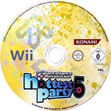 Dance Dance Revolution: Hottest Party 5 Wii disc (SURPA4)