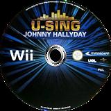 U-Sing Johnny Hallyday Wii disc (SUSFMR)