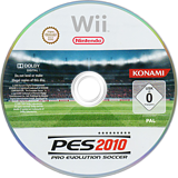 Pro Evolution Soccer 2010 Wii disc (SUXPA4)