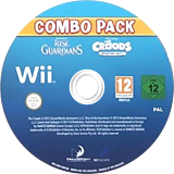 DreamWorks The Croods: Prehistoric Party! & Rise of the Guardians: Combo Pack Wii disc (SVEPAF)