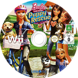 Barbie and Her Sisters: Puppy Rescue Wii disc (SVQPVZ)