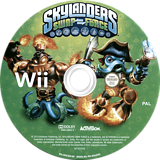 Skylanders: Swap Force Wii disc (SVXI52)