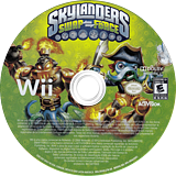 Skylanders: Swap Force Wii disc (SVXX52)
