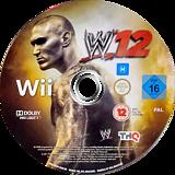 WWE '12 Wii disc (SW6P78)