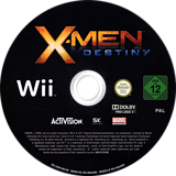 X-Men Destiny Wii disc (SX8P52)