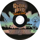 Guitar Hero: World Tour Wii disc (SXAP52)