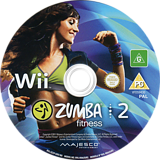 Zumba Fitness 2 Wii disc (SZ2P5G)