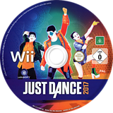 Just Dance 2017 Wii disc (SZ7P41)
