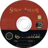 El Señor de los Anillos: La Tercera Edad GameCube disc (G3AS69)