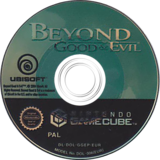 Beyond Good And Evil GameCube disc (GGEP41)