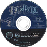 Harry Potter y la Piedra Filosofal GameCube disc (GHLZ69)