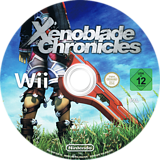 Xenoblade Chronicles Wii disc (SX4P01)