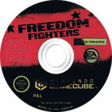 Freedom Fighters disque GameCube (GFDF69)