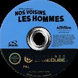 Nos Voisins, les Hommes disque GameCube (GH5F52)