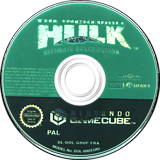 The Incredible Hulk Ultimate Destruction disque GameCube (GHUF7D)