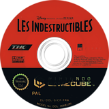 Les Indestructibles disque GameCube (GICF78)