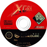 XGRA Extreme G Racing Association disque GameCube (GXAP51)