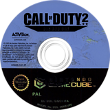 Call of Duty 2: Big Red One GameCube disc (GQCI52)