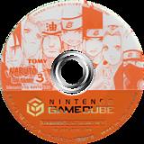 NARUTO-ナルト-激闘忍者大戦!3 GameCube disc (G3NJDA)