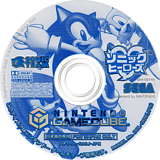 ソニック ヒーローズ GameCube disc (G9SJ8P)