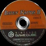 バテン・カイトスII 始まりの翼と神々の嗣子 GameCube disc (GK4J01)