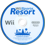 Wiiスポーツ リゾート Wii disc (RZTJ01)