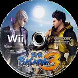 戦国BASARA3 Wii disc (SB3J08)