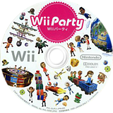 Wii パーティー Wii disc (SUPJ01)
