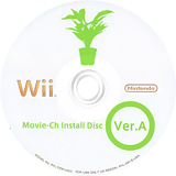 Movie-Ch Install Disc Ver. A Wii disc (091E00)